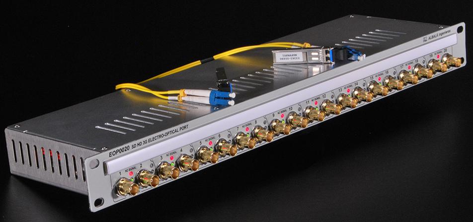 transmision de video por fibra optica